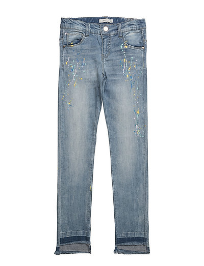 NKFTHEA DNMADECO 100 PANT - LIGHT BLUE DENIM