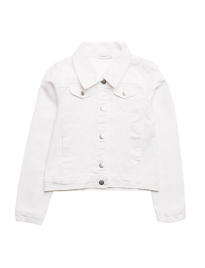 NKFESA DNM JACKET AD - BRIGHT WHITE