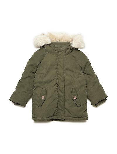 NMMMANSON PARKA JACKET - FOREST NIGHT