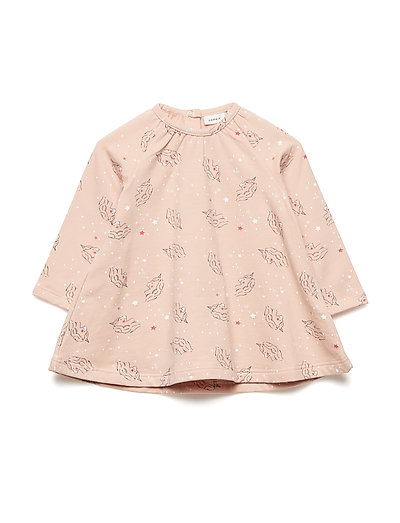 NBFRIE LS SWE TUNIC BRU - ROSE CLOUD