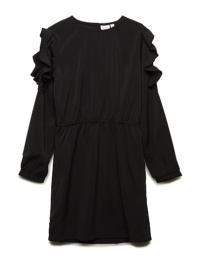 NKFROSIE LS DRESS - BLACK