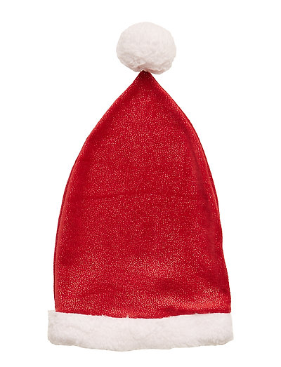 NMFCHRISTMAS HAT GLITTER - JESTER RED