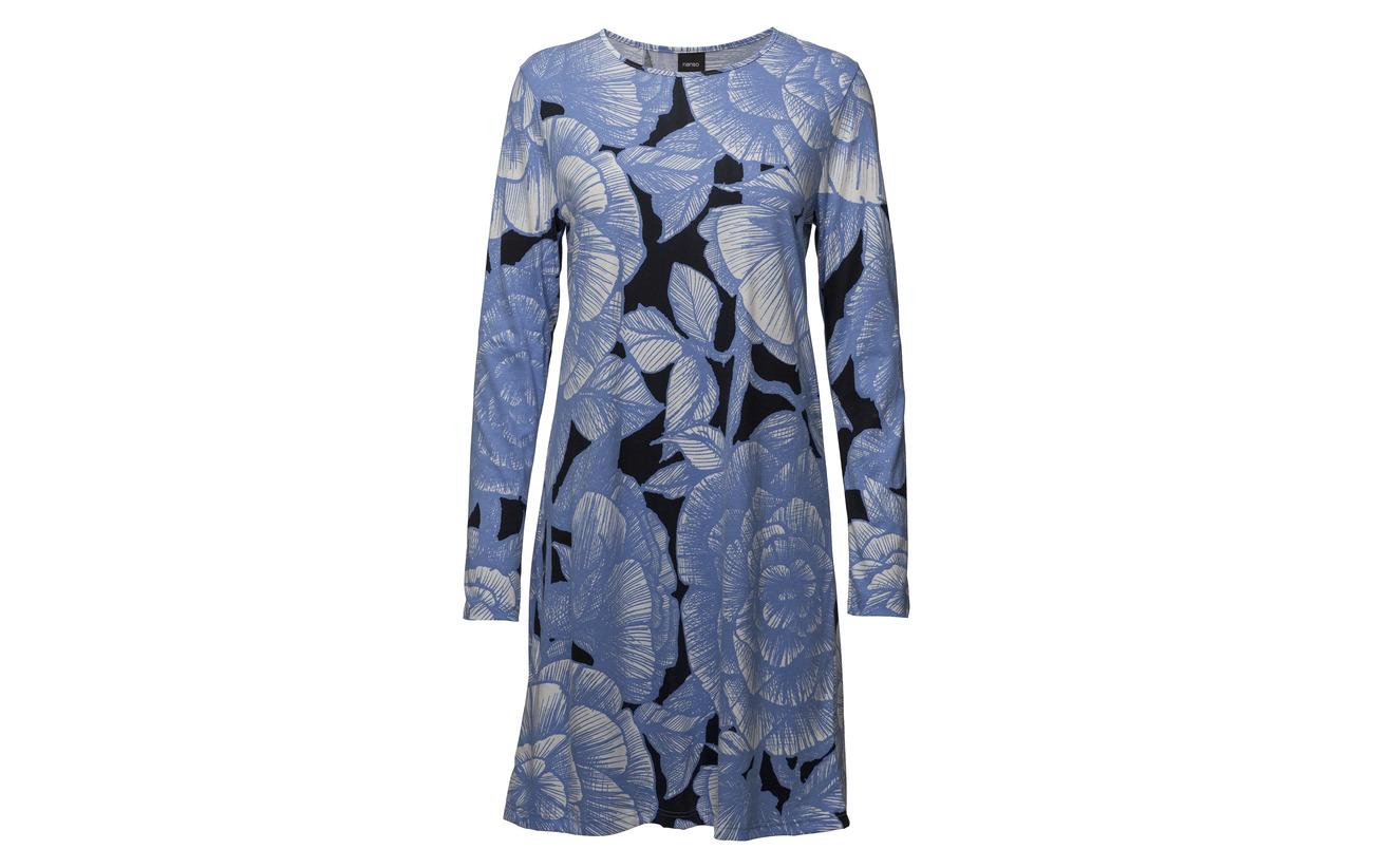 50 Shirt Blue Cottonmodal Jalo Nanso Ladies Big Coton AqgZZX