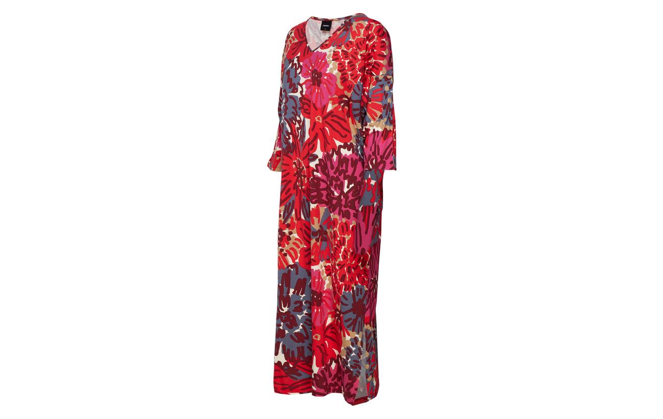 Nanso Coton Cottonmodal 50 Riemu Ladies Red Kaftan rHxqSCwr