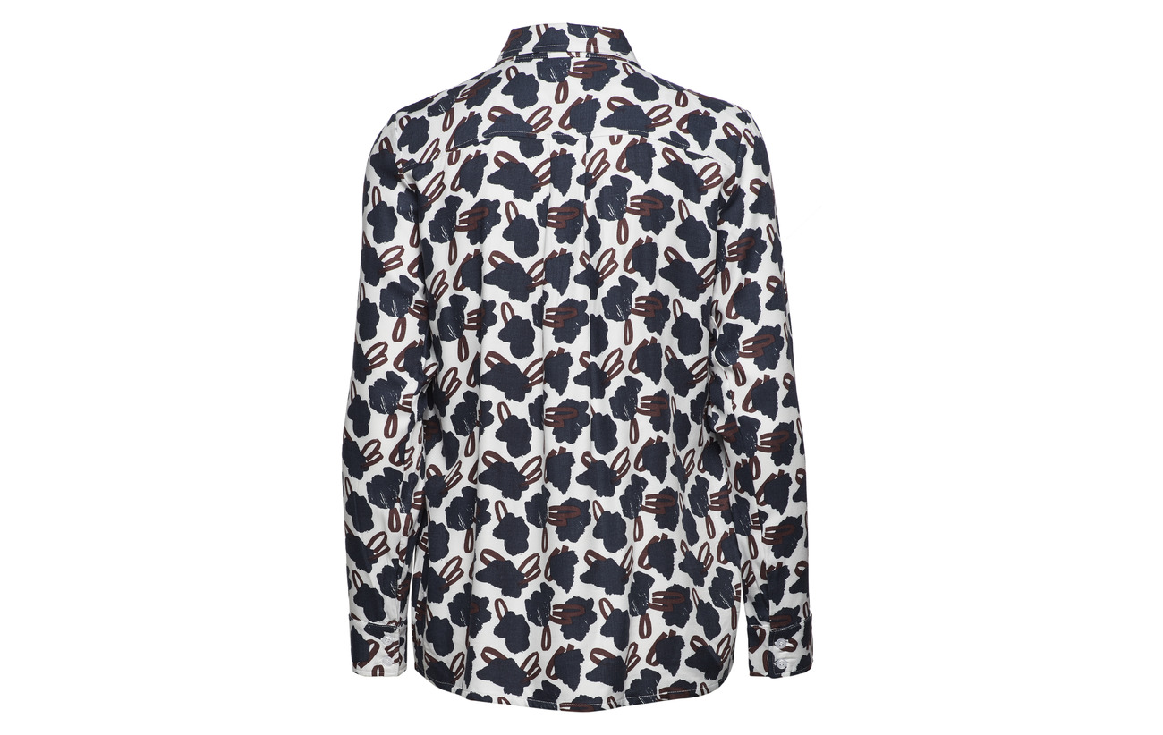 Nanso Viscose Shirt Ladies 100 Asteri Blue zqrz7aw