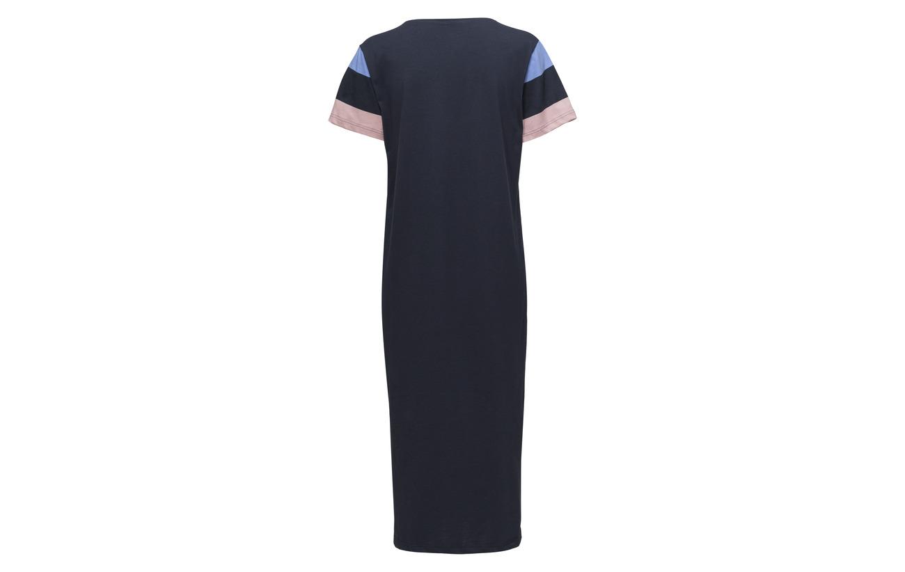 Palsta Ladies Nanso Long Striped Nightgown Coton 100 tOnzqZw