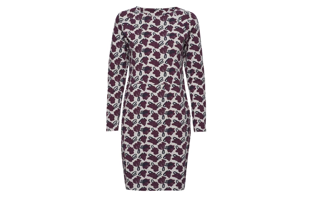 5 Burgundy Ladies 95 Nanso Dress Elastane Coton Asteri BqHxY