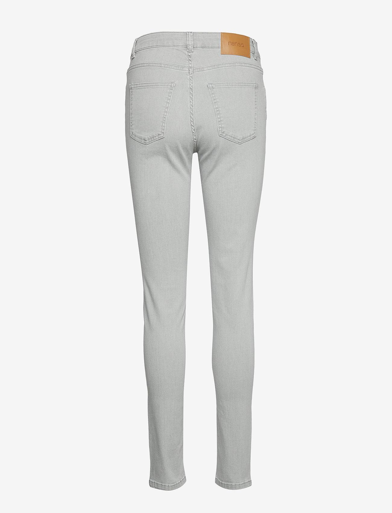 Ladies Jeans, Demi (Grey) - Nanso lcsUXP