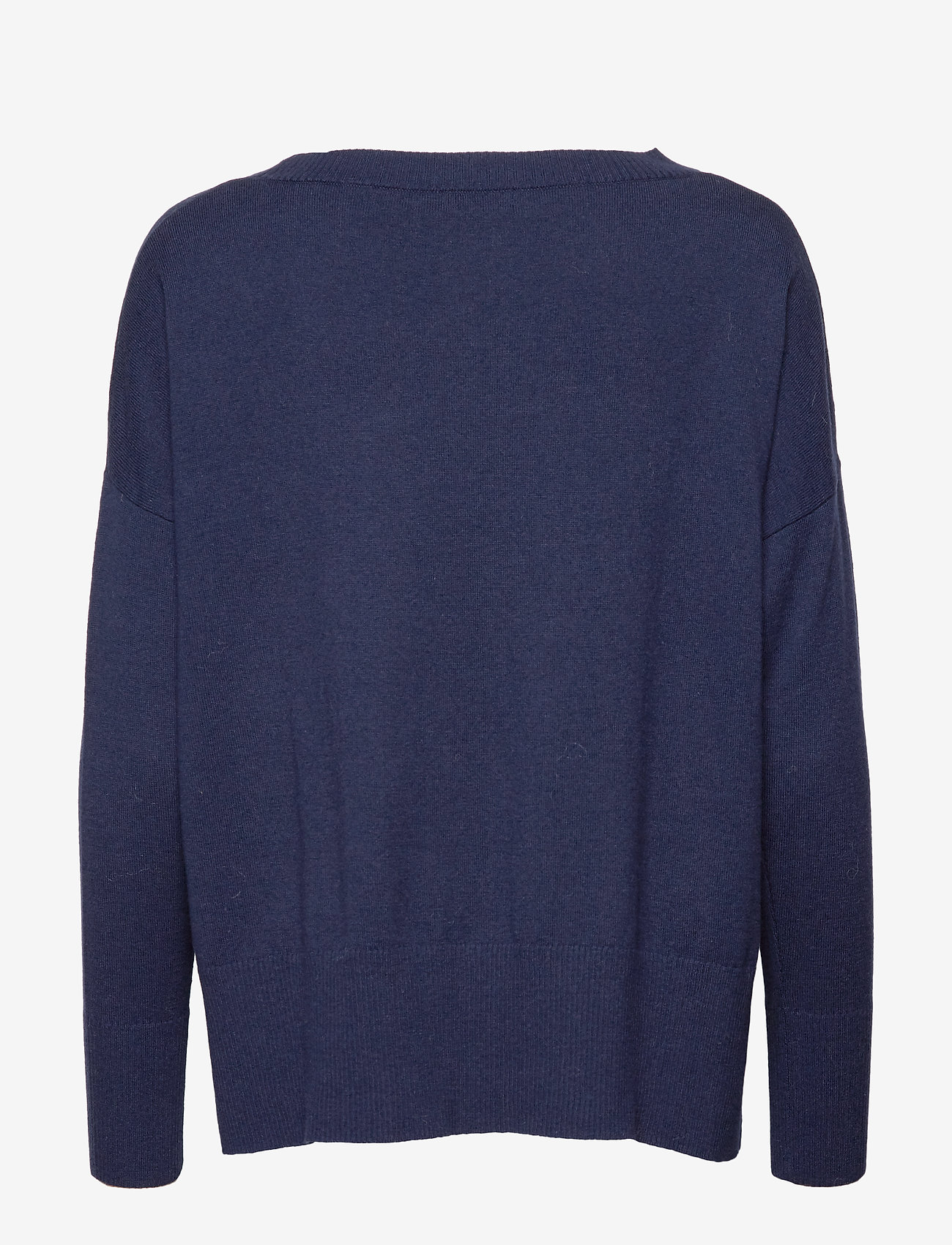 Nanso - Ladies knit sweater, Villis - neulepuserot - dark blue - 1