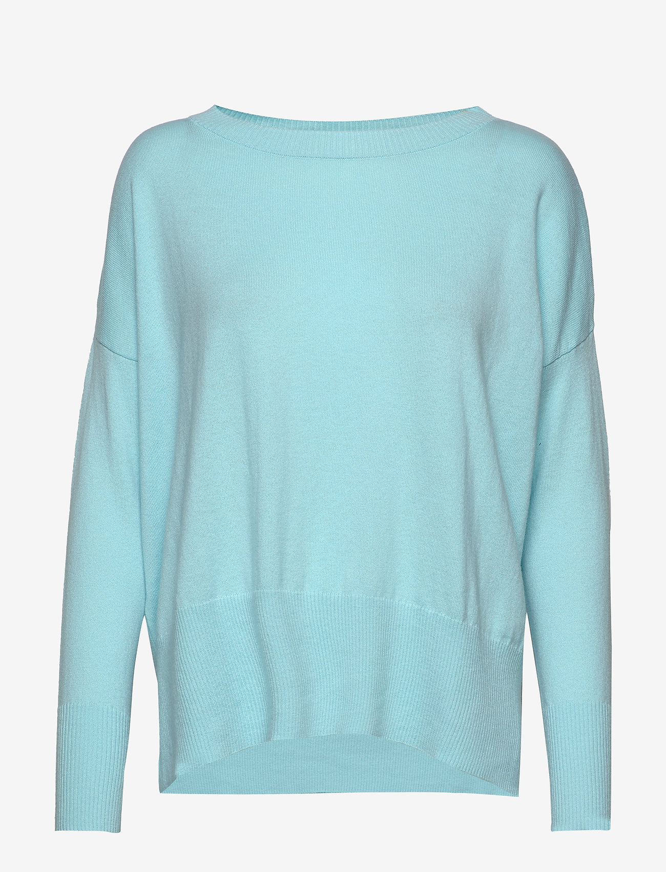 Nanso - Ladies knit sweater, Villis - neulepuserot - light blue - 0