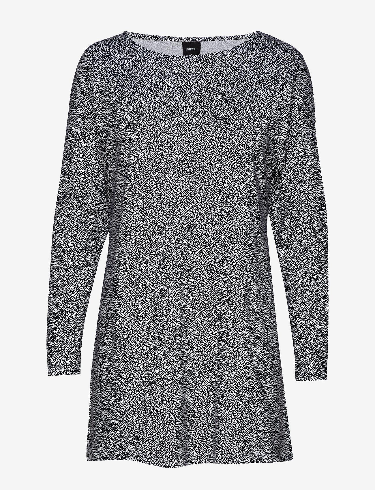 Nanso - Ladies tunic, Riisi - robes courtes - black - 0