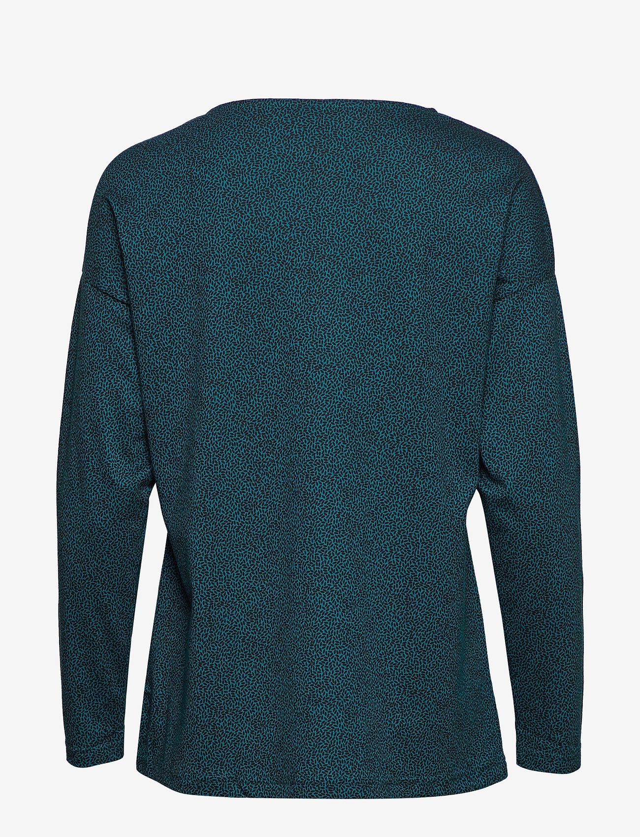 Nanso - Ladies blouse, Riisi - neulepuserot - petrol - 1
