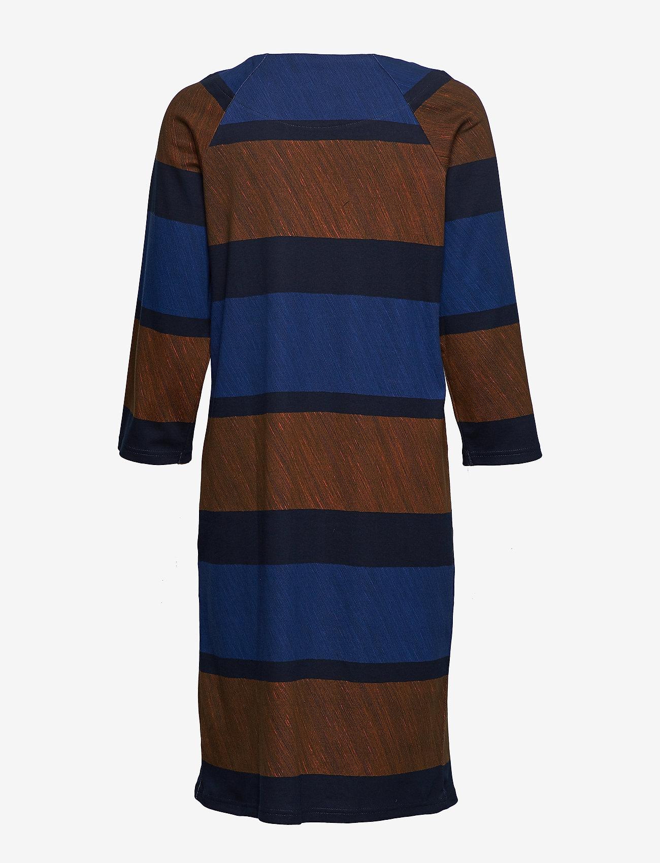 Nanso - Ladies dress, Puomi - midimekot - blue - 1
