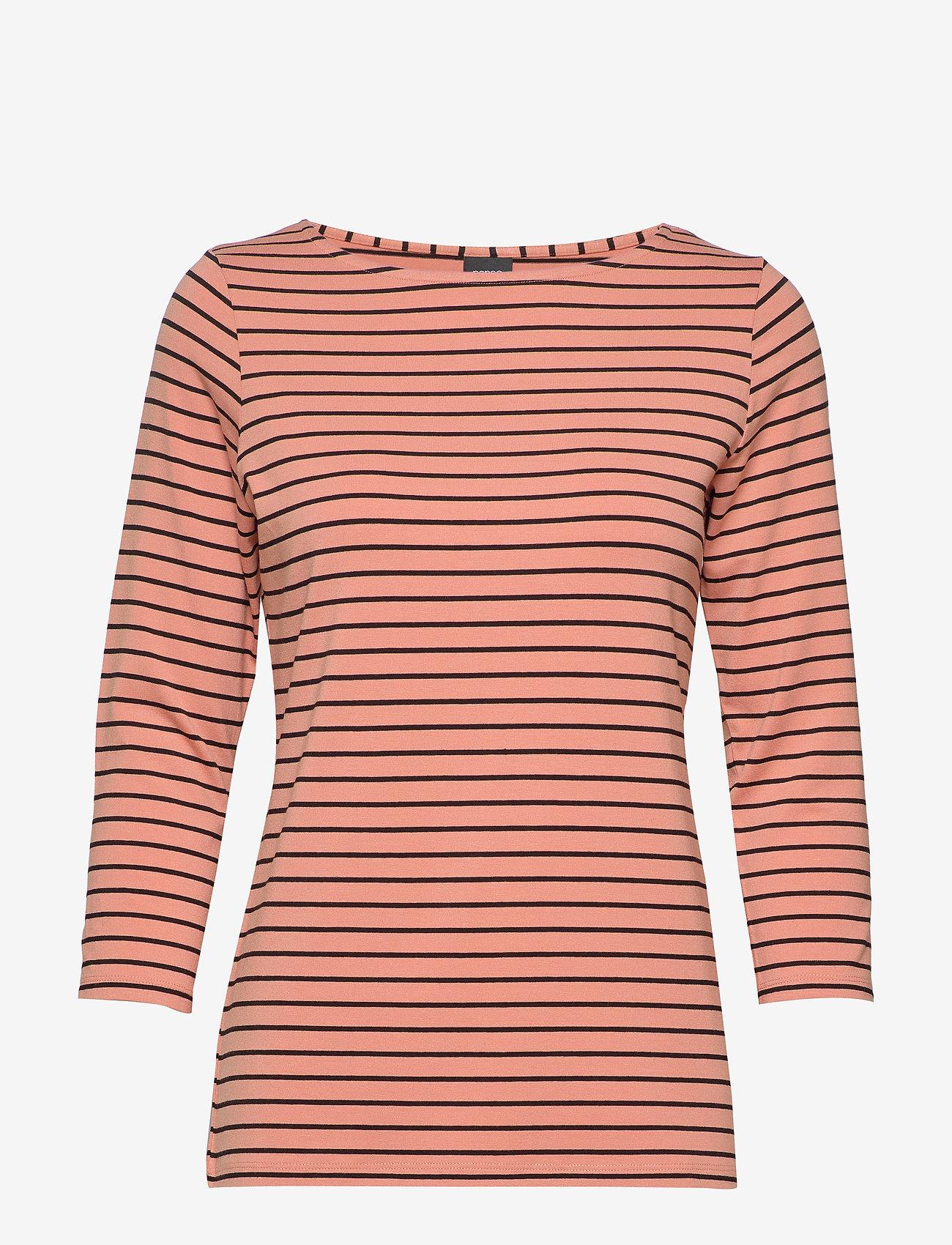 Nanso - Ladies blouse, Viiru - topy z długimi rękawami - orange - 0