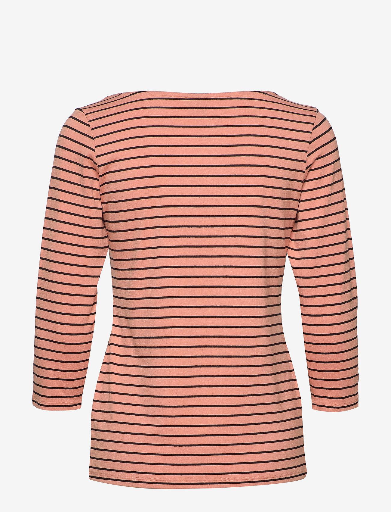 Nanso - Ladies blouse, Viiru - topy z długimi rękawami - orange - 1