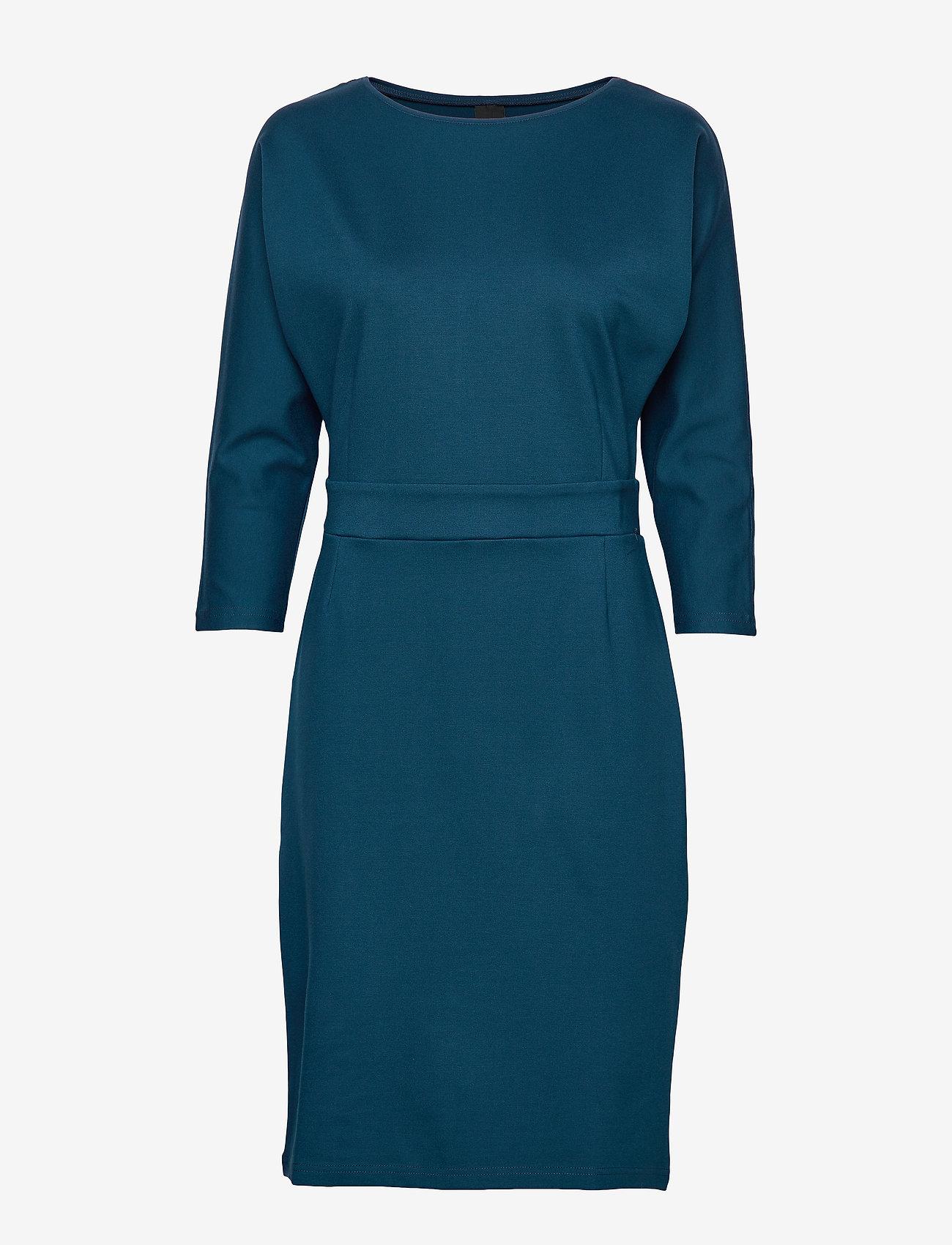 Nanso - Ladies dress, Asta - midi kjoler - dark teal - 0