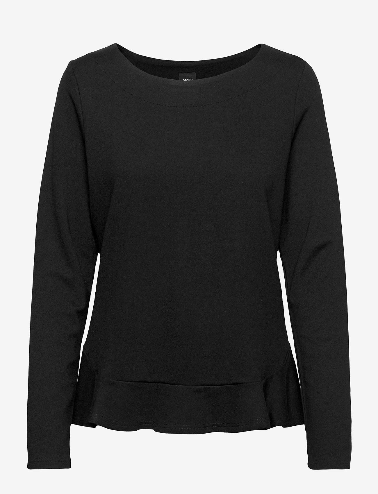 Nanso - Ladies blouse, Minne - black - 0