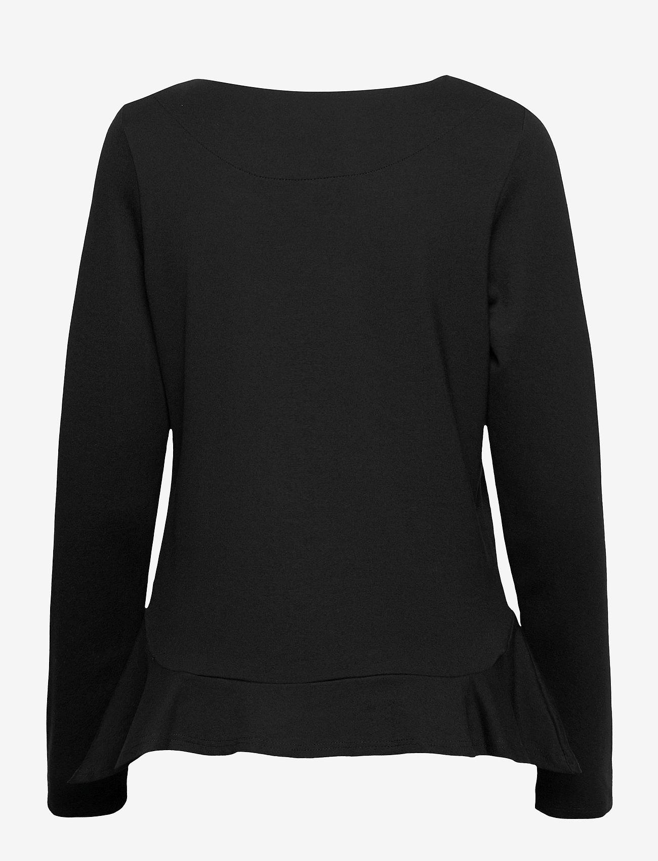 Nanso - Ladies blouse, Minne - black - 1