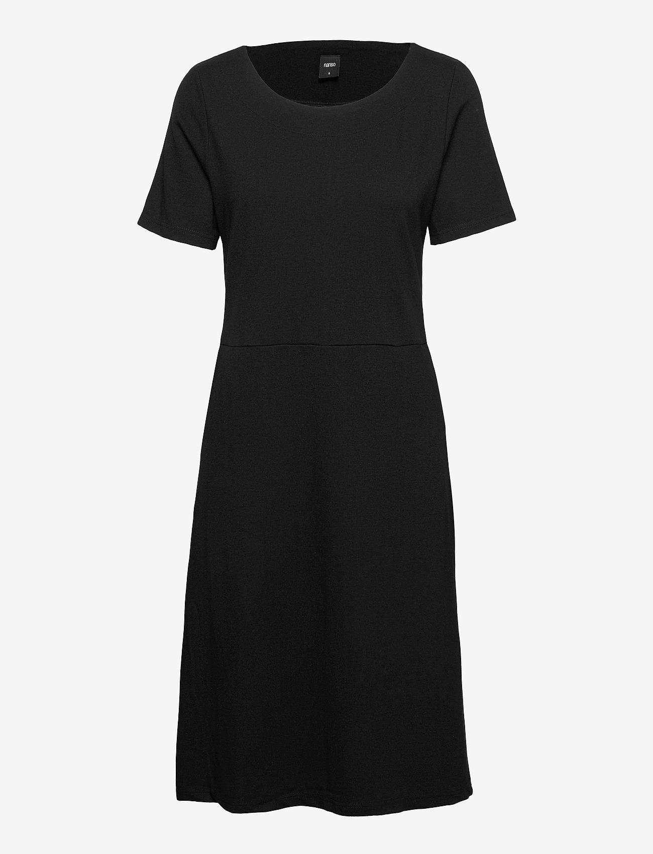 Nanso - Ladies dress, Minne - midimekot - black - 0