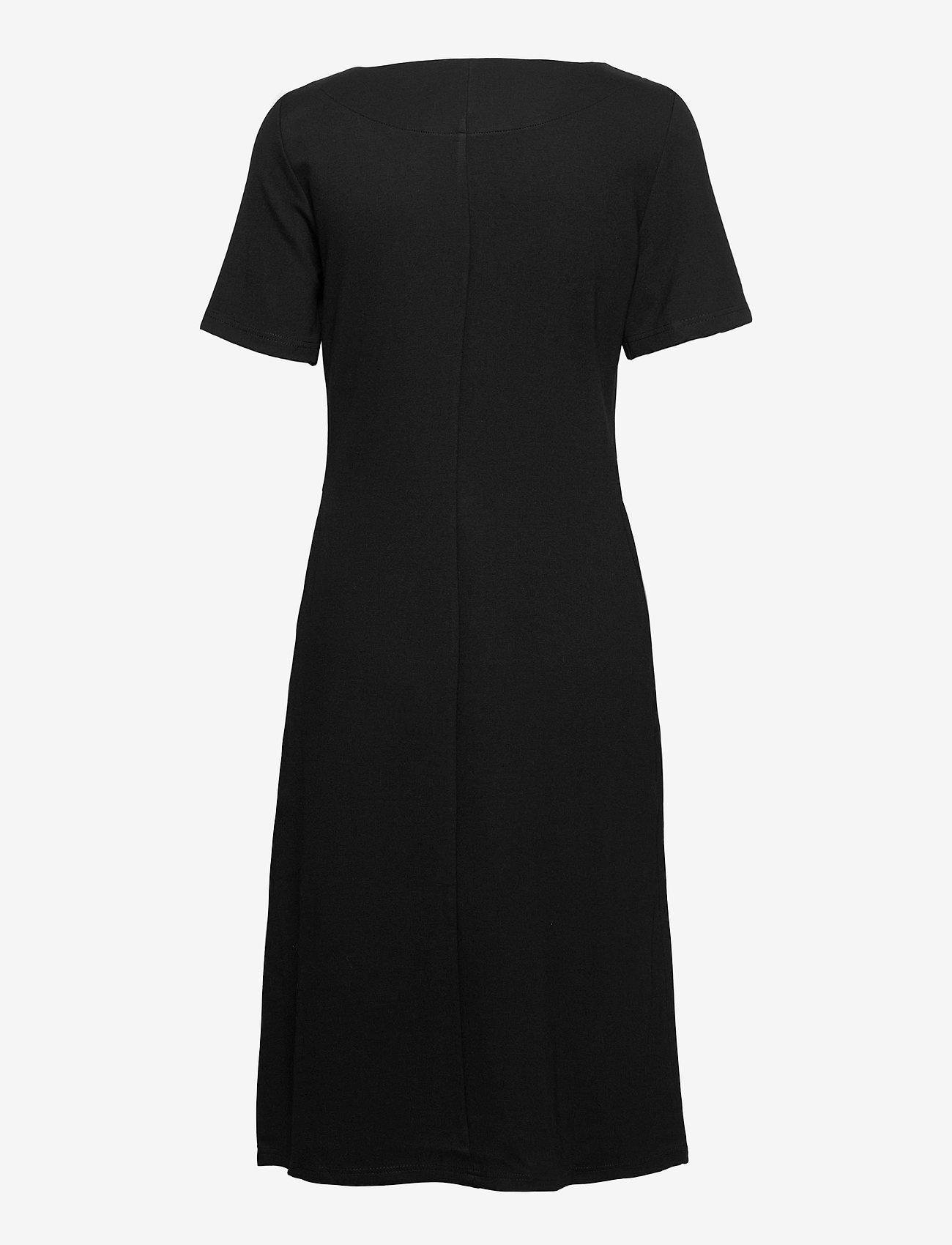 Nanso - Ladies dress, Minne - midimekot - black - 1