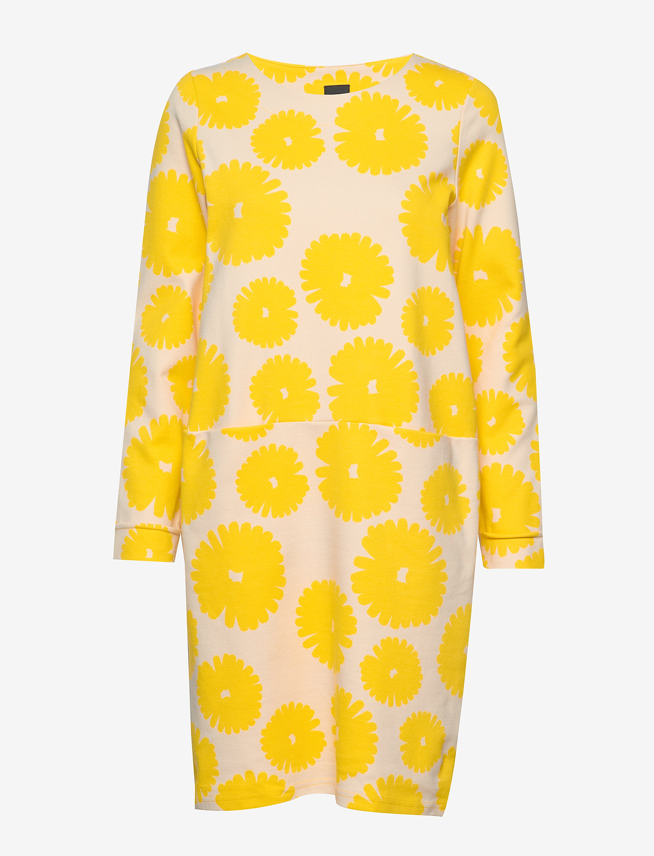 Nanso - Ladies dress, Mimosa - midi kjoler - yellow - 0