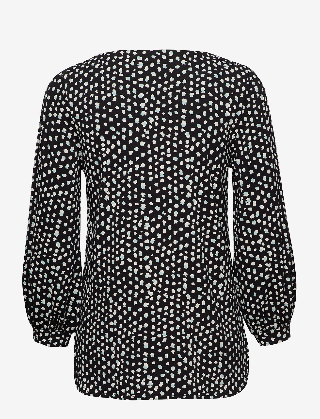 Nanso - Ladies blouse, Dippi - pitkähihaiset t-paidat - black - 1