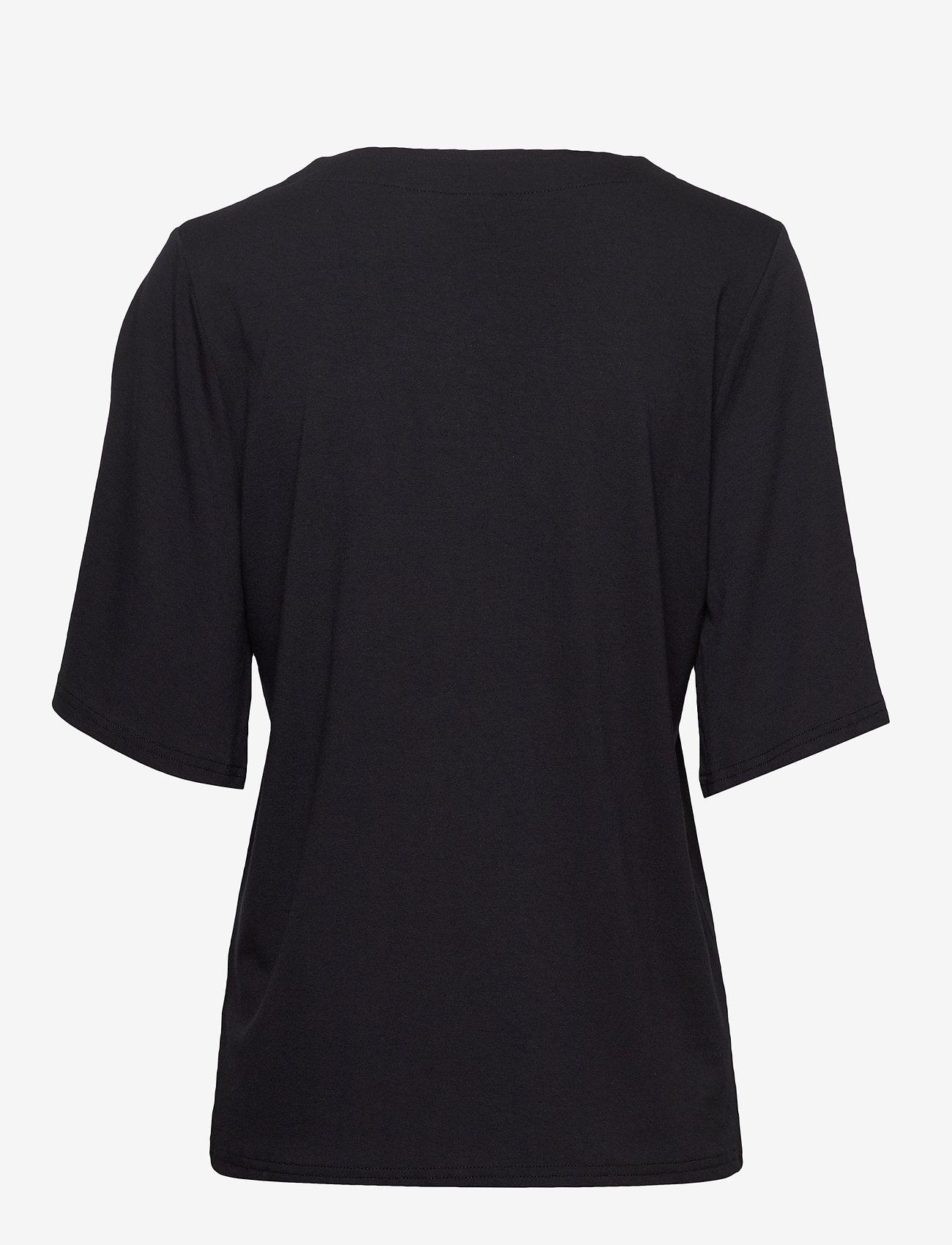 Nanso - Ladies blouse, Aava - t-shirts - black - 1