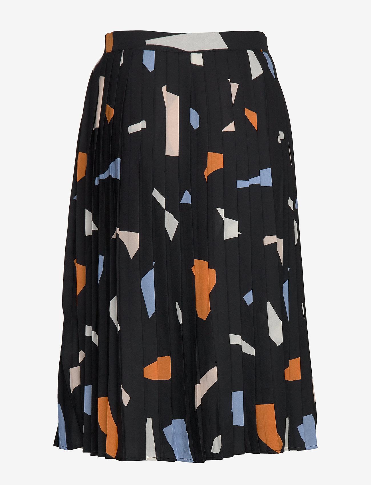 Nanso - Ladies skirt, Palaset - spódnice do kolan i midi - black - 1