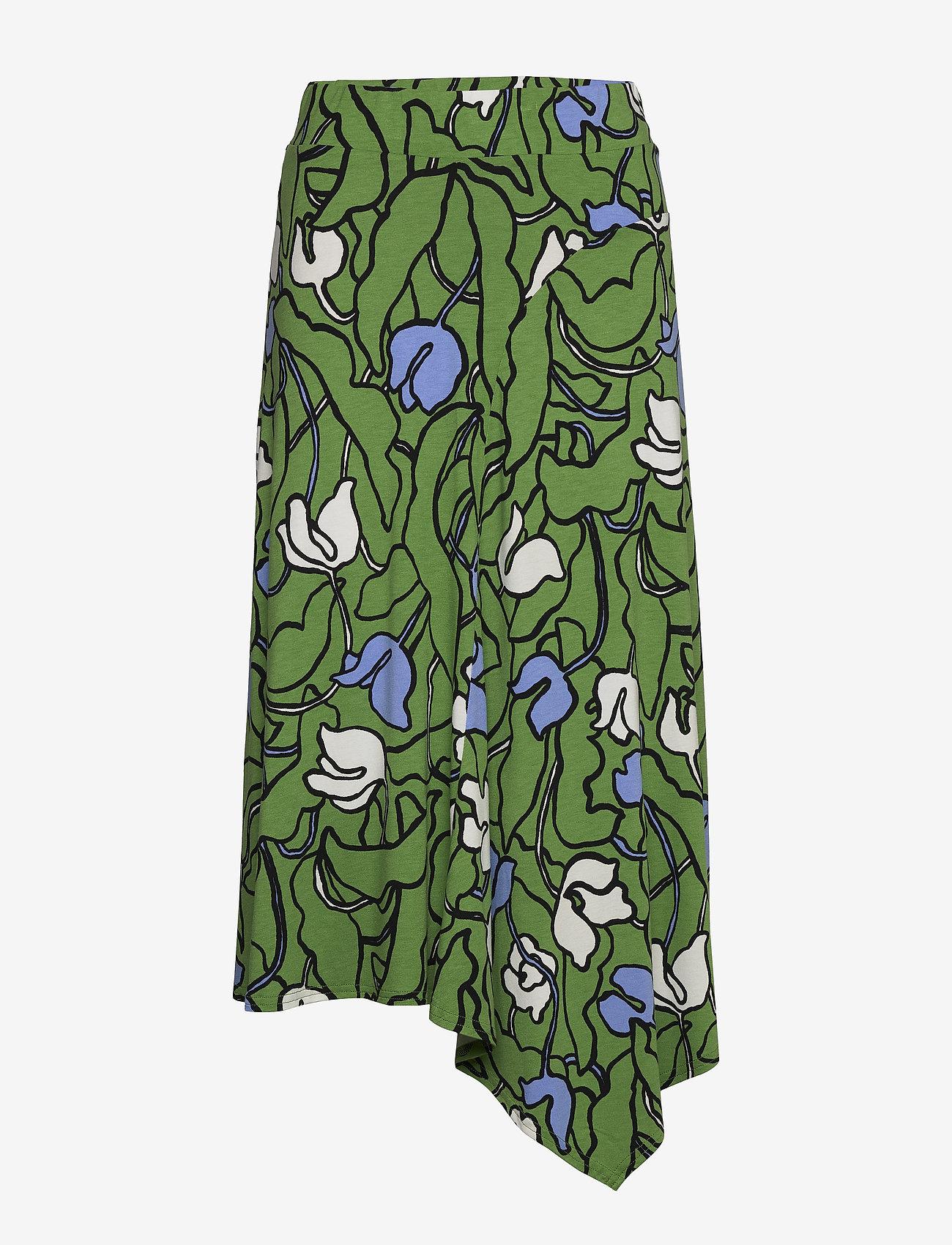 Nanso - Ladies skirt, Iiris - spódnice do kolan i midi - green - 0