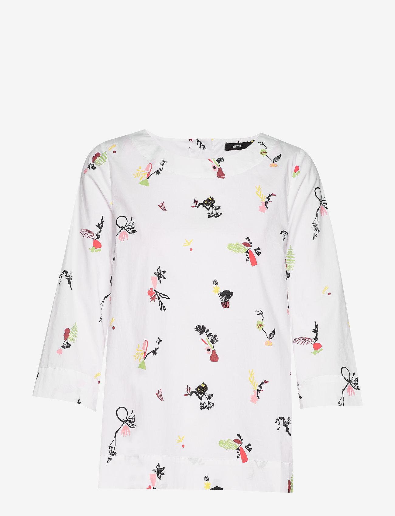 Nanso - Ladies shirt, Asetelma - pitkähihaiset t-paidat - multicoloured - 0