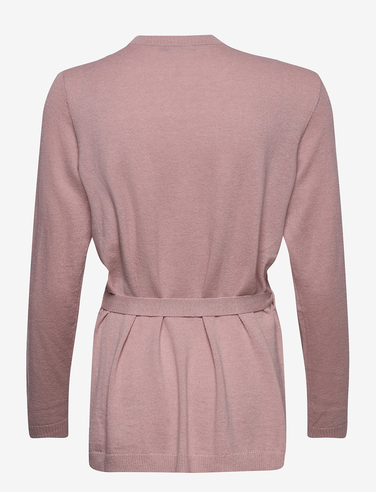 Nanso - Ladies knit cardigan, Villis - gilets - beige - 1
