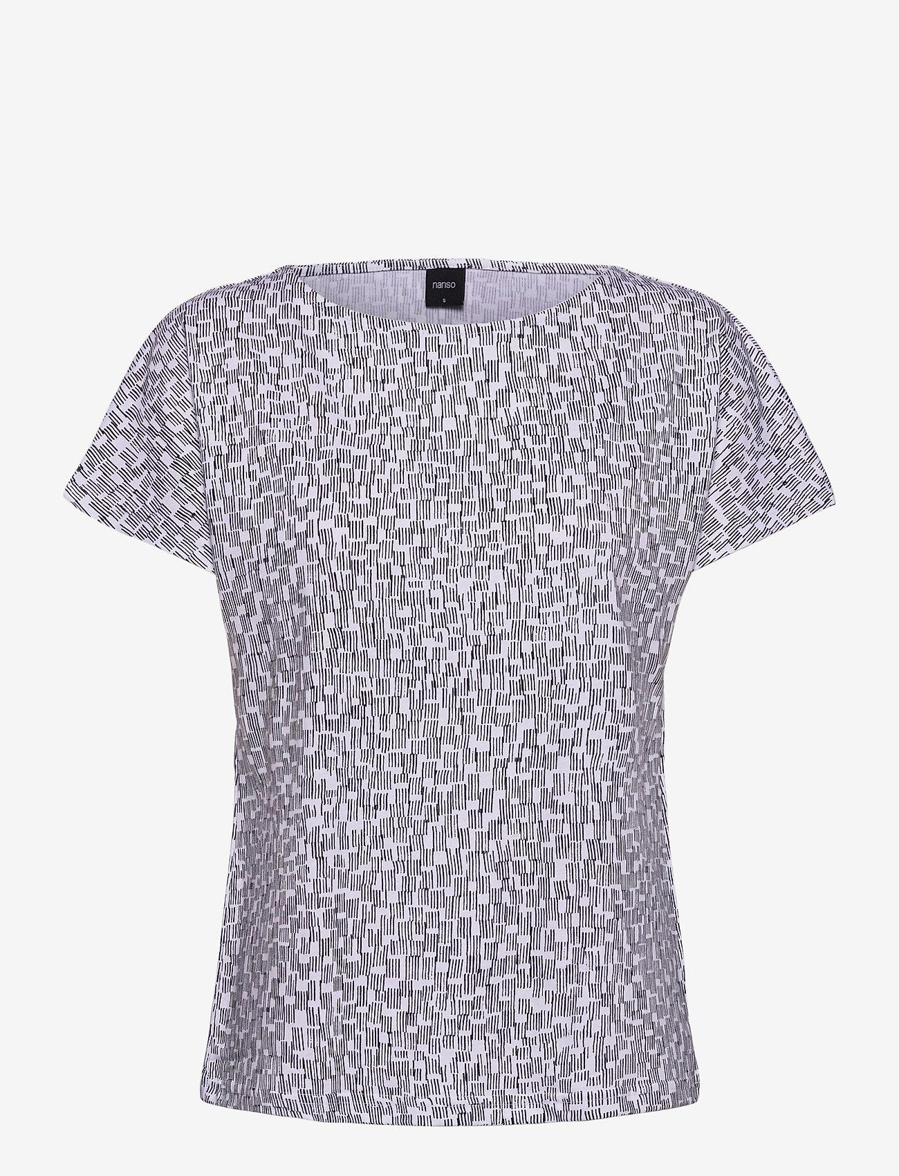 Nanso - Ladies blouse, Klippi - t-shirts - white - 0