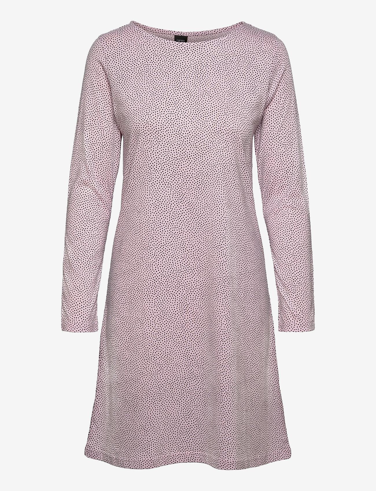 Nanso - Ladies big shirt, Pilkut - midimekot - light pink - 0