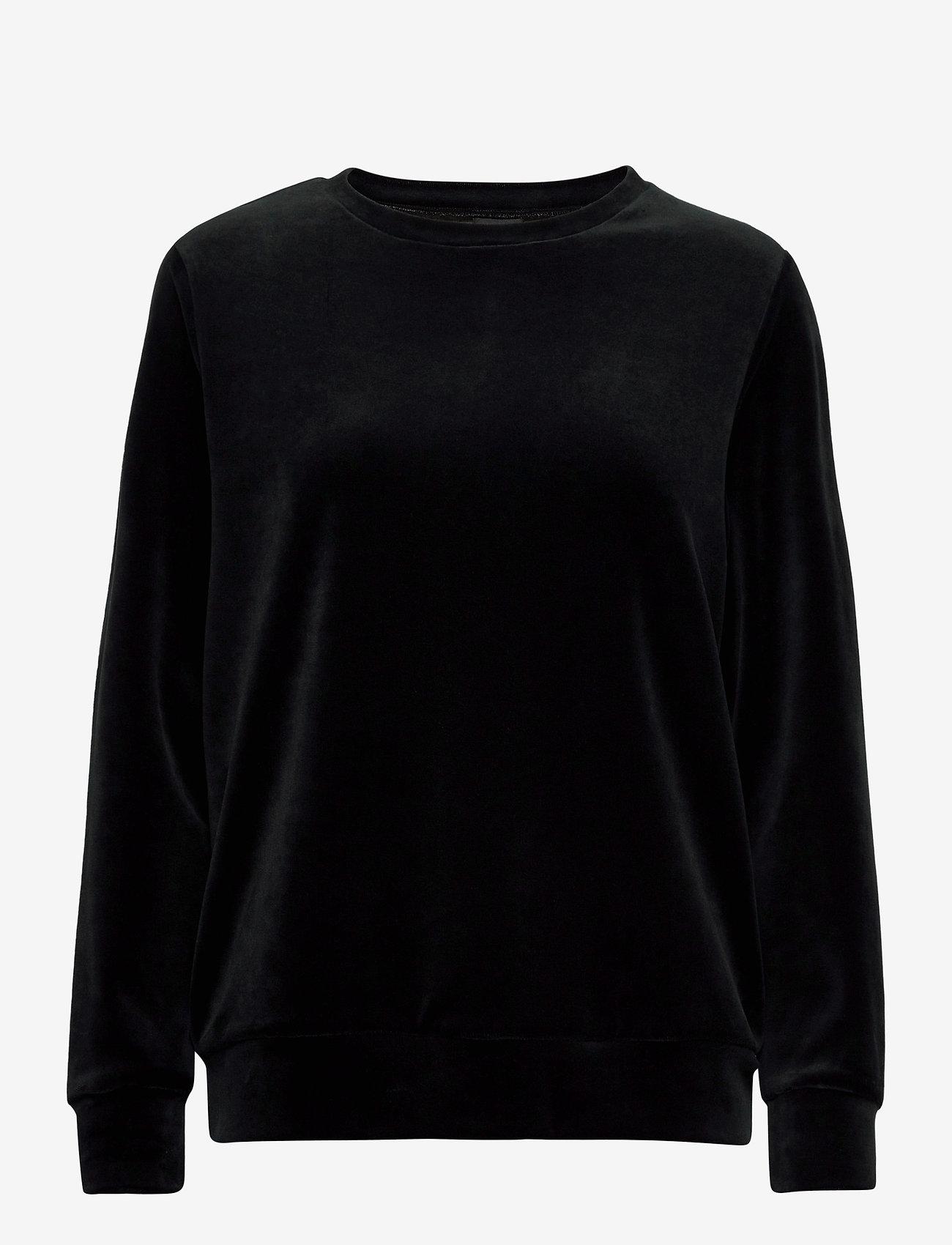 Nanso - Ladies shirt, Vivia - overdeler - black - 0