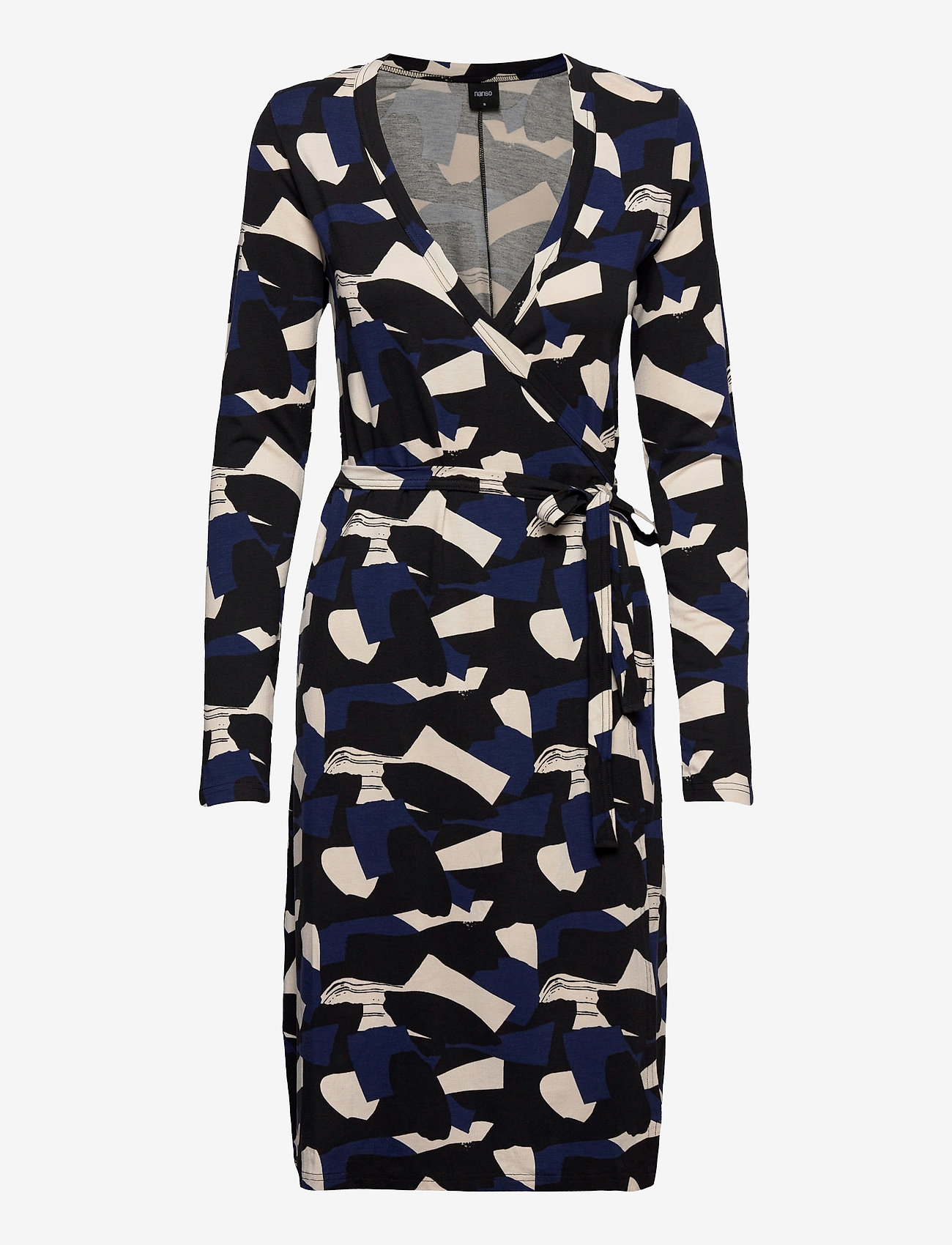 Nanso - Ladies dress, Paletti - midimekot - blue-toned - 0