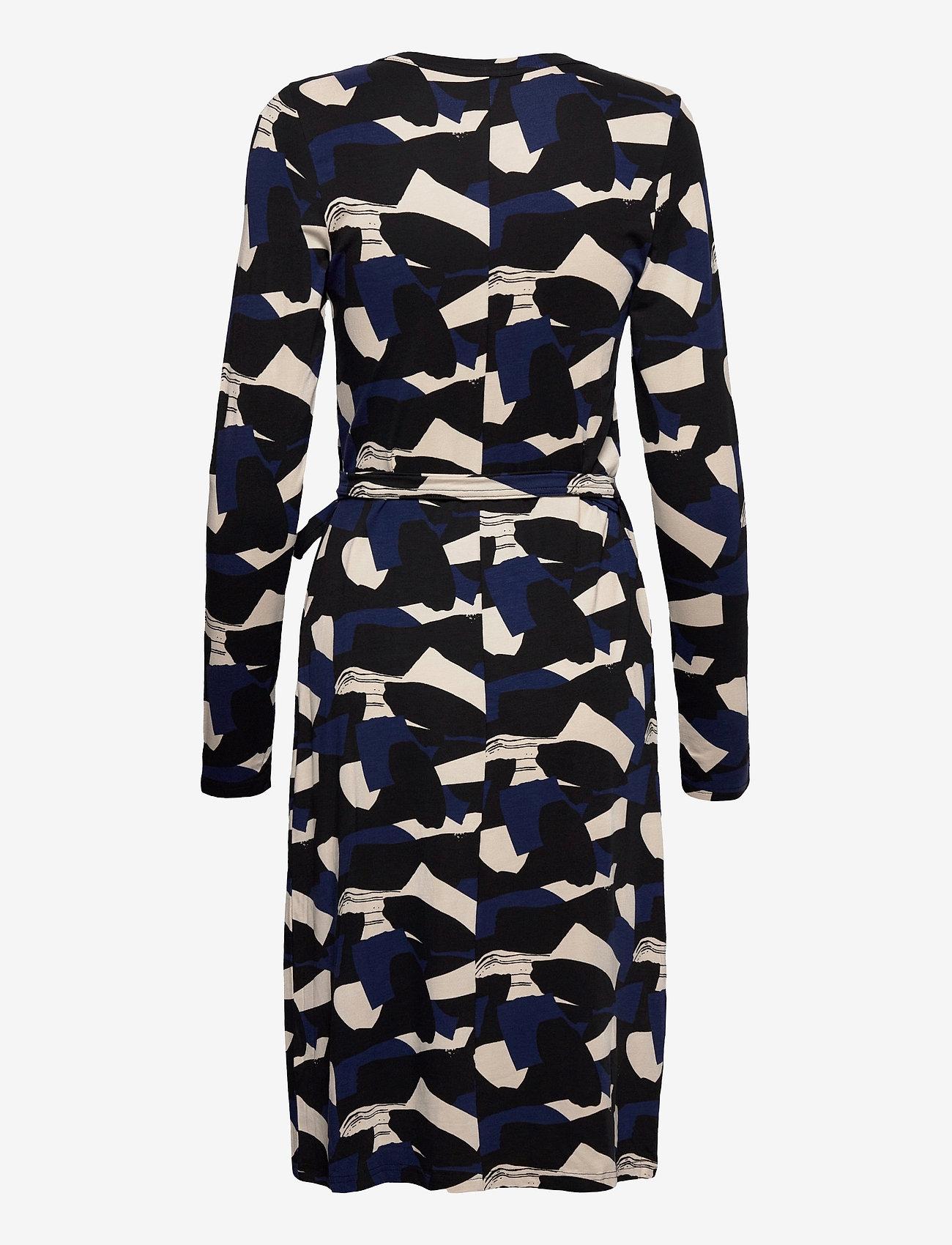 Nanso - Ladies dress, Paletti - midimekot - blue-toned - 1