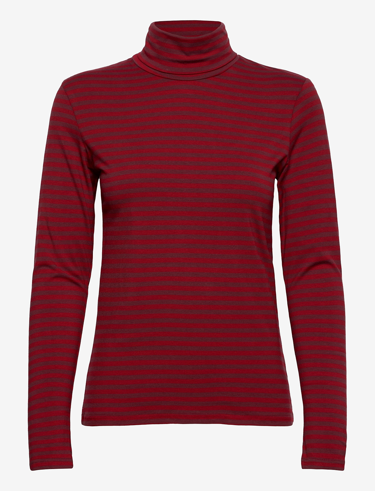Nanso - Ladies high neck, Jamit - tops met lange mouwen - red - 0