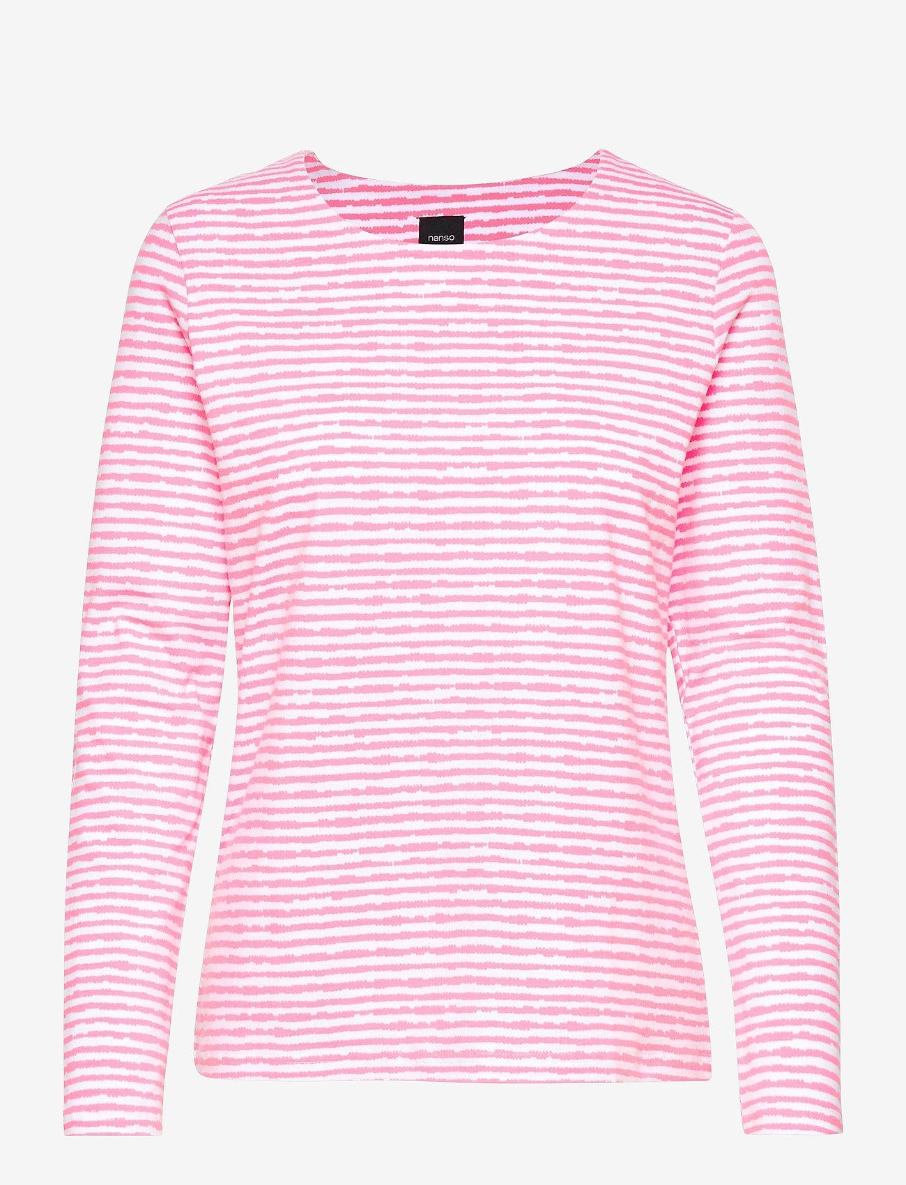 Nanso - Ladies blouse, Aprilli - tops met lange mouwen - pink - 0