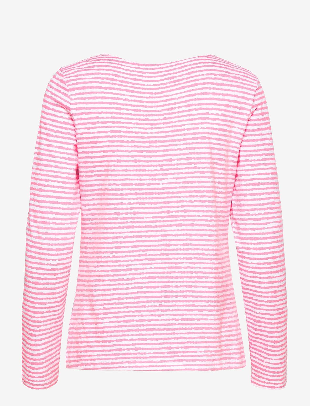 Nanso - Ladies blouse, Aprilli - tops met lange mouwen - pink - 1