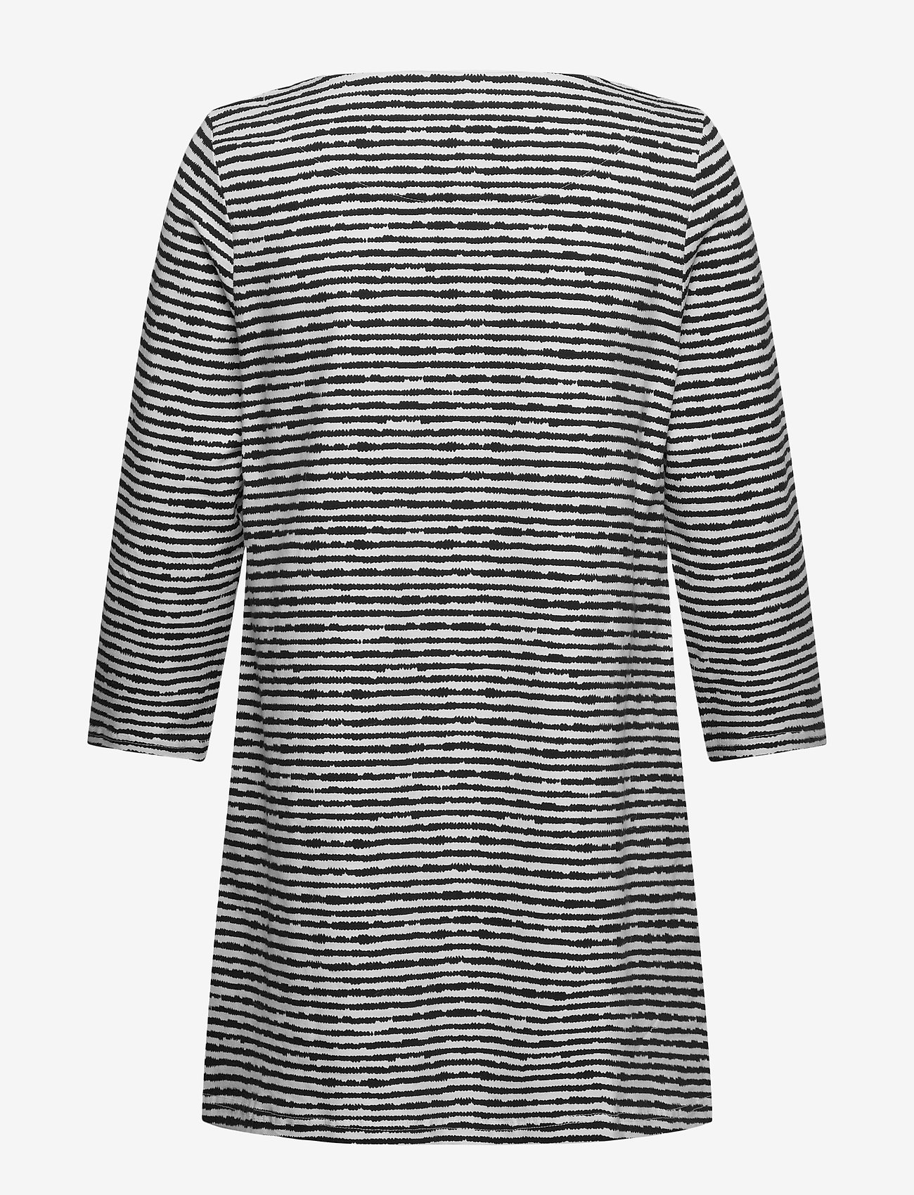 Nanso - Ladies tunic, Aprilli - tunieken - black and white - 1