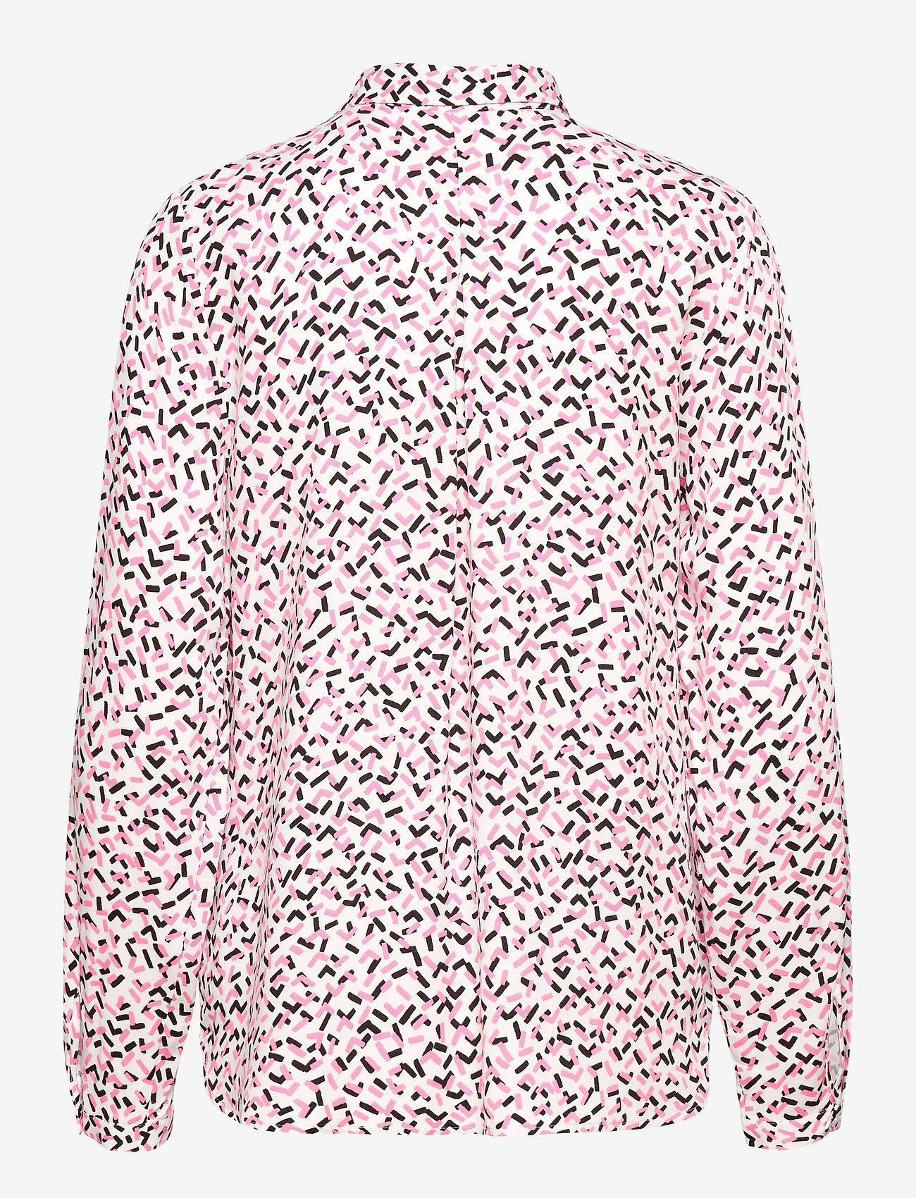 Nanso - Ladies blouse, Pätkät - overhemden met lange mouwen - pink - 1