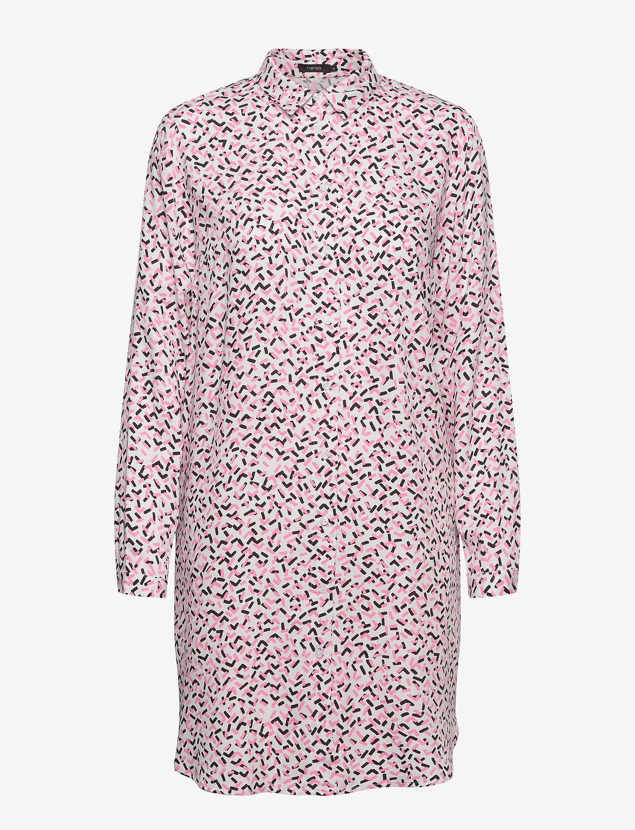 Nanso - Ladies shirt, Pätkät - alledaagse jurken - pink - 0