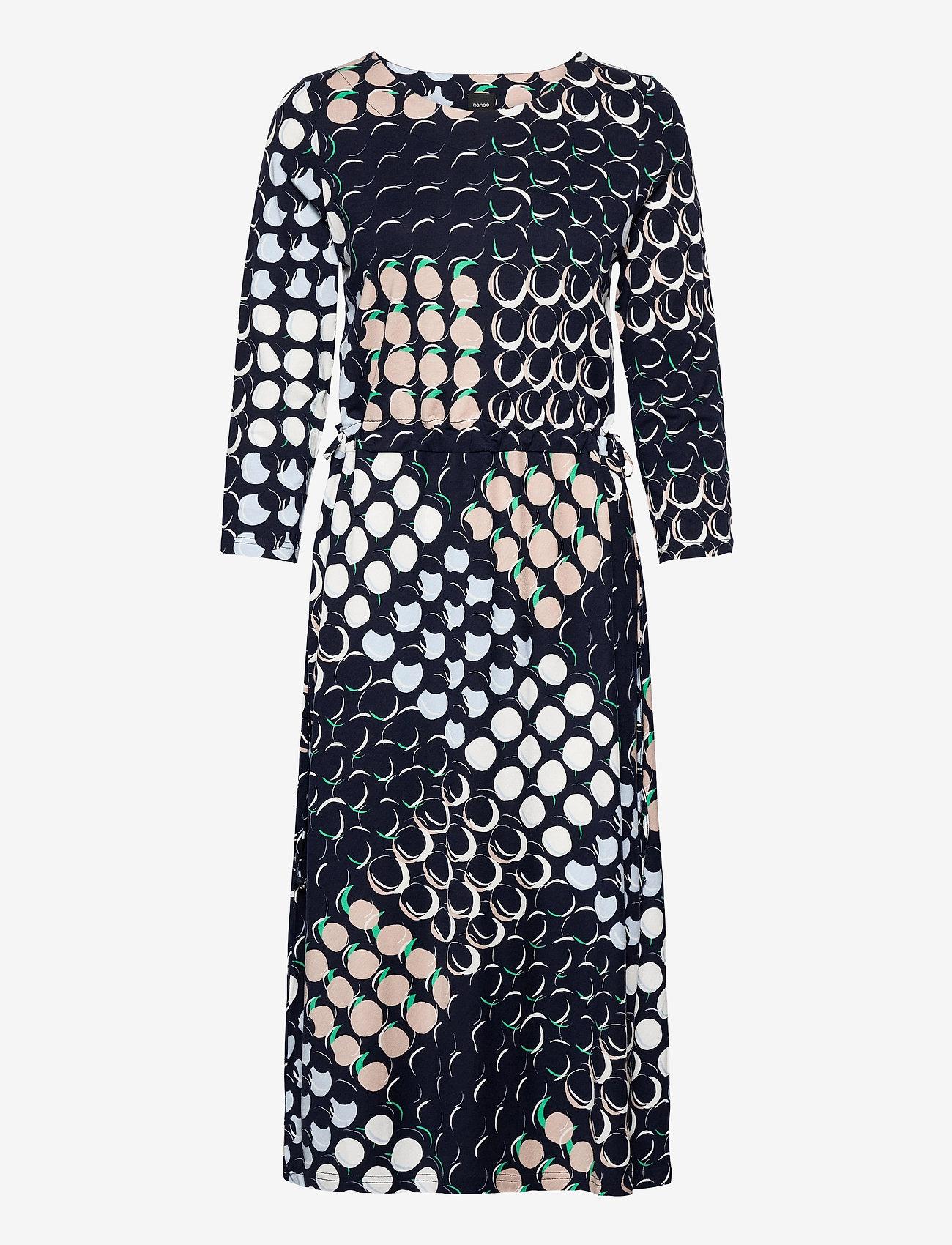 Nanso - Ladies dress, Oivallus - alledaagse jurken - blue - 0