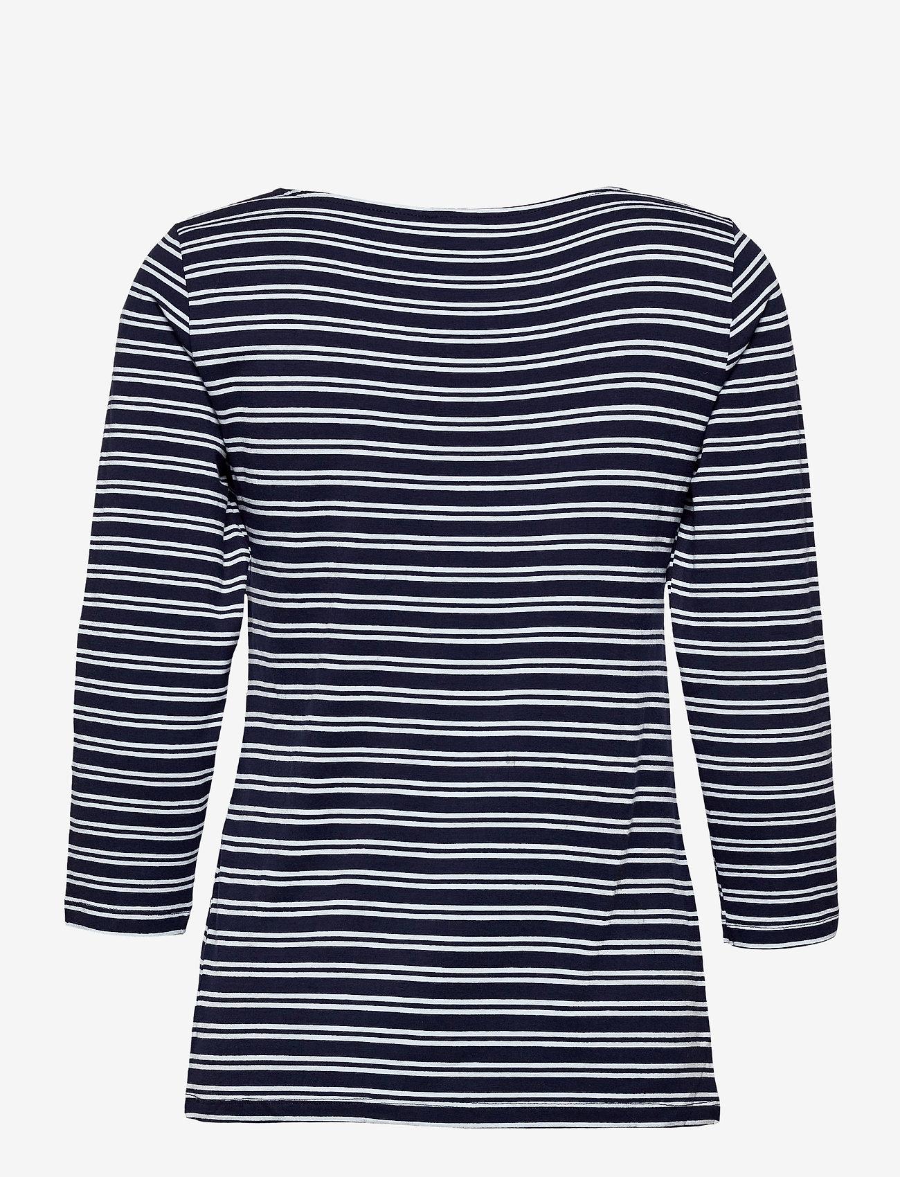 Nanso - Ladies blouse, Virna - tops met lange mouwen - blue - 1