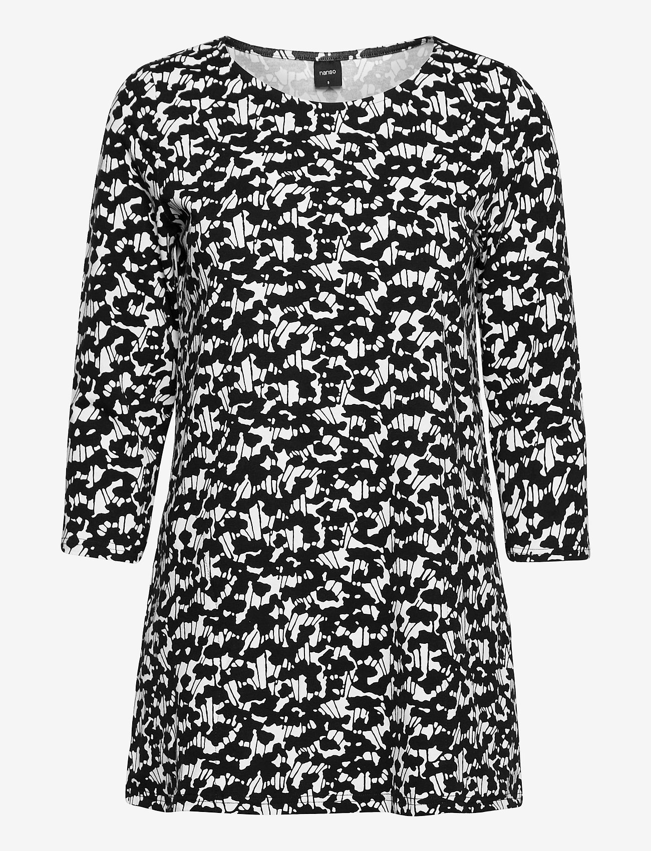 Nanso - Ladies tunic, Liito - tunikor - black-white - 0