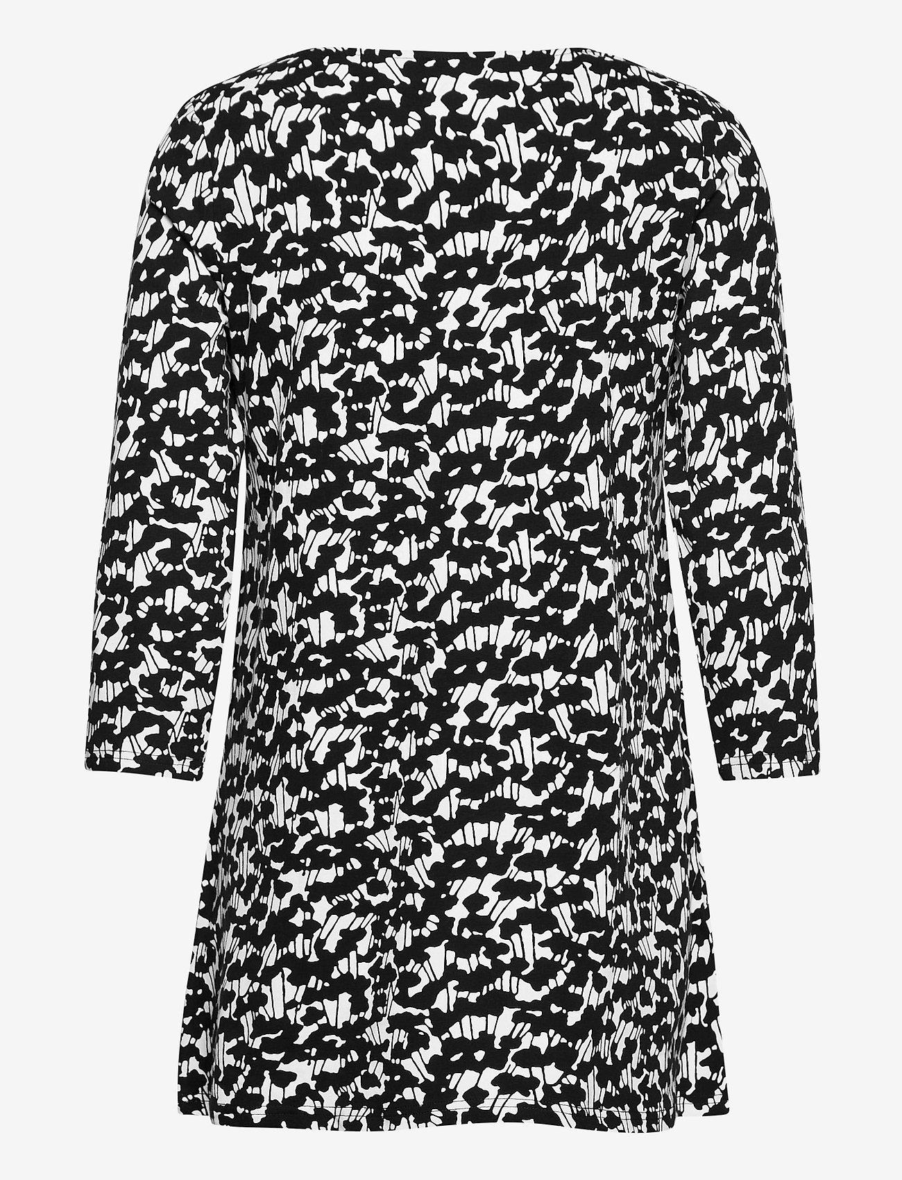Nanso - Ladies tunic, Liito - tunikor - black-white - 1