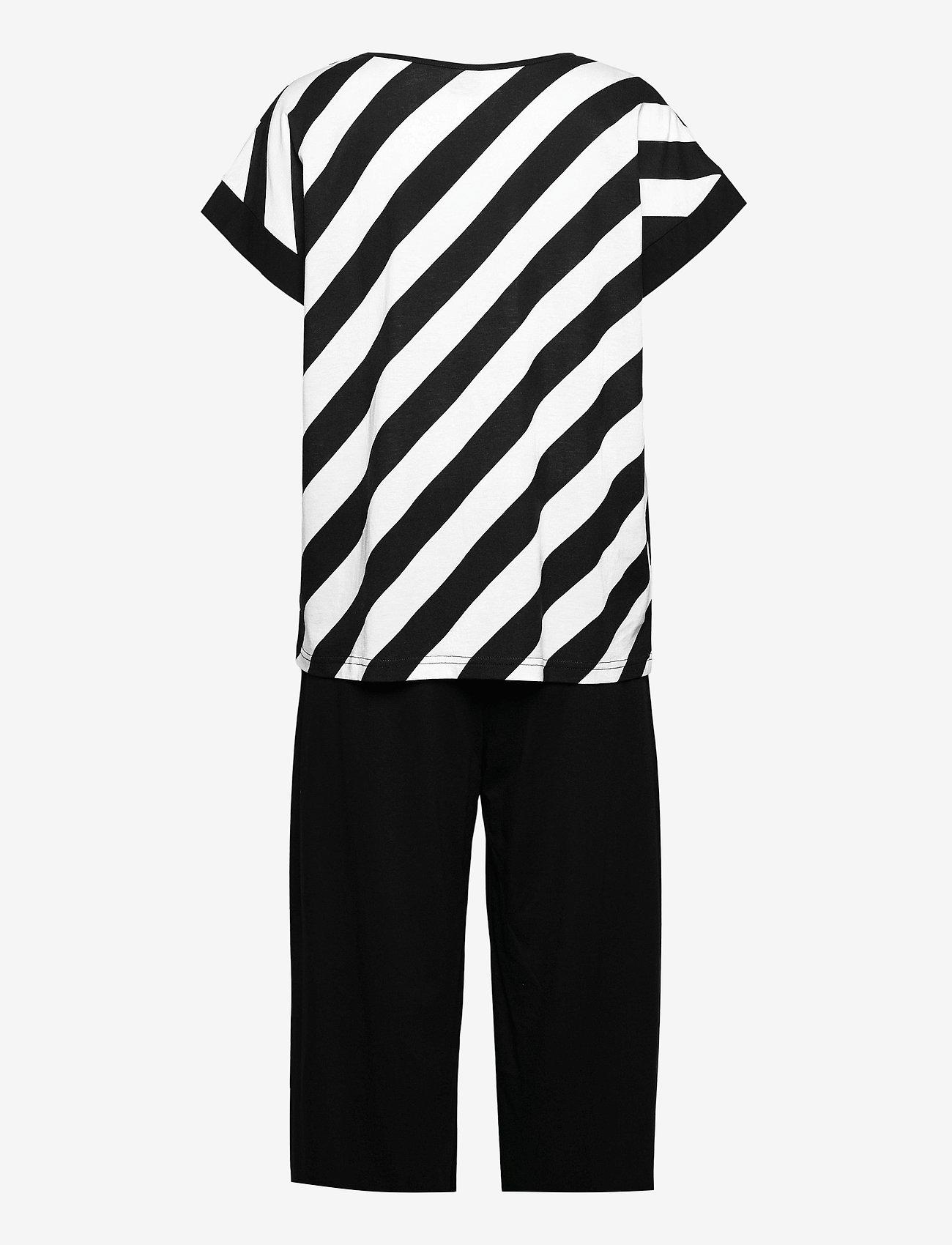 Nanso - Ladies pyjamas, Kulma - pyjamas - black and white - 1