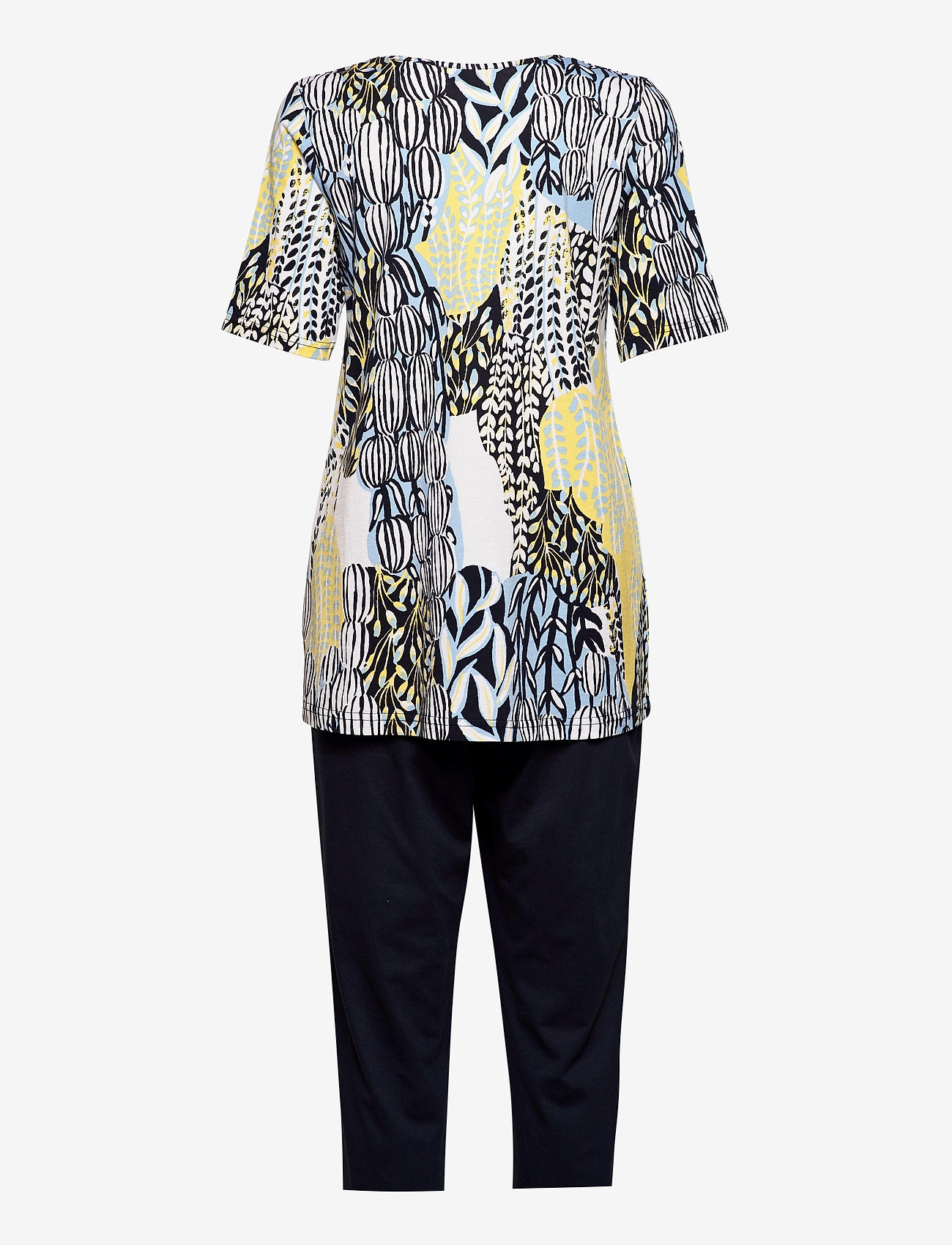 Nanso - Ladies pyjamas, Suurennuslasi - tops - blue - 1