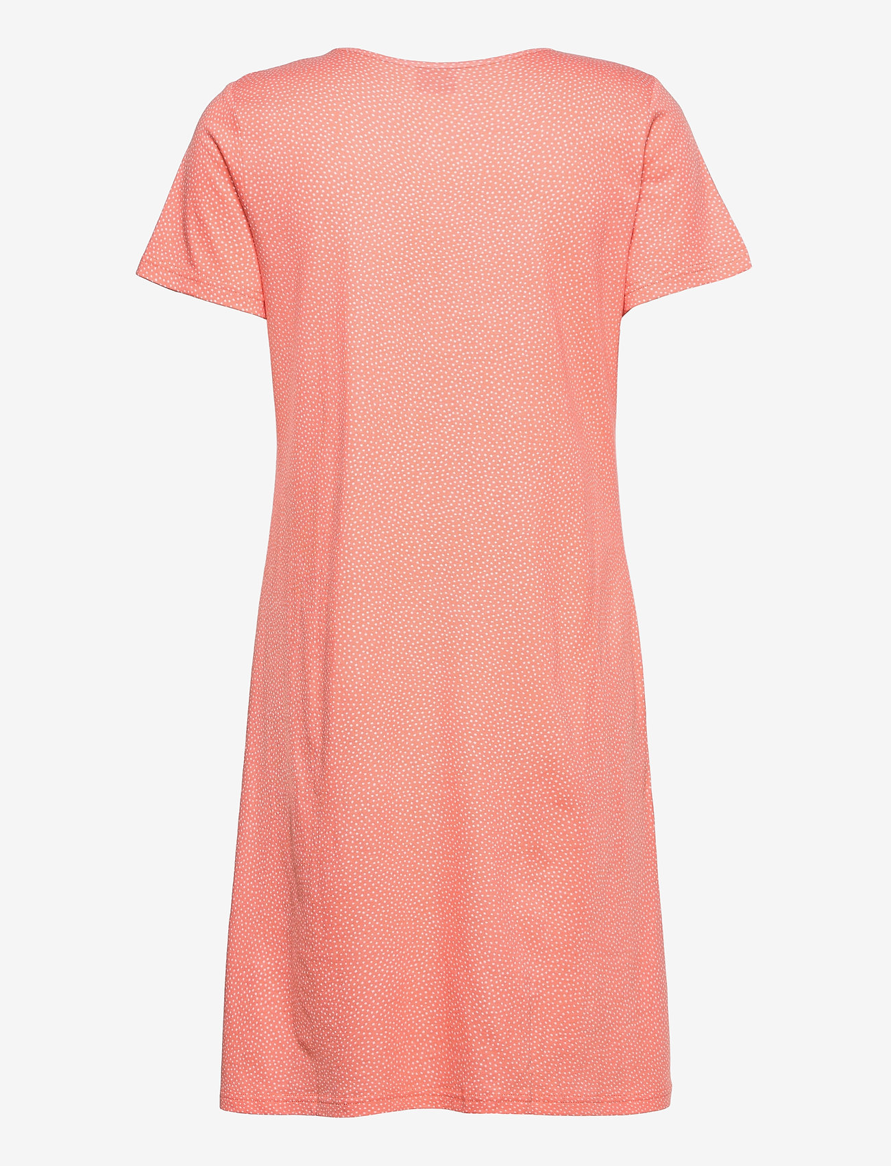 Nanso - Ladies big shirt, Pilkut - nightdresses - red - 1
