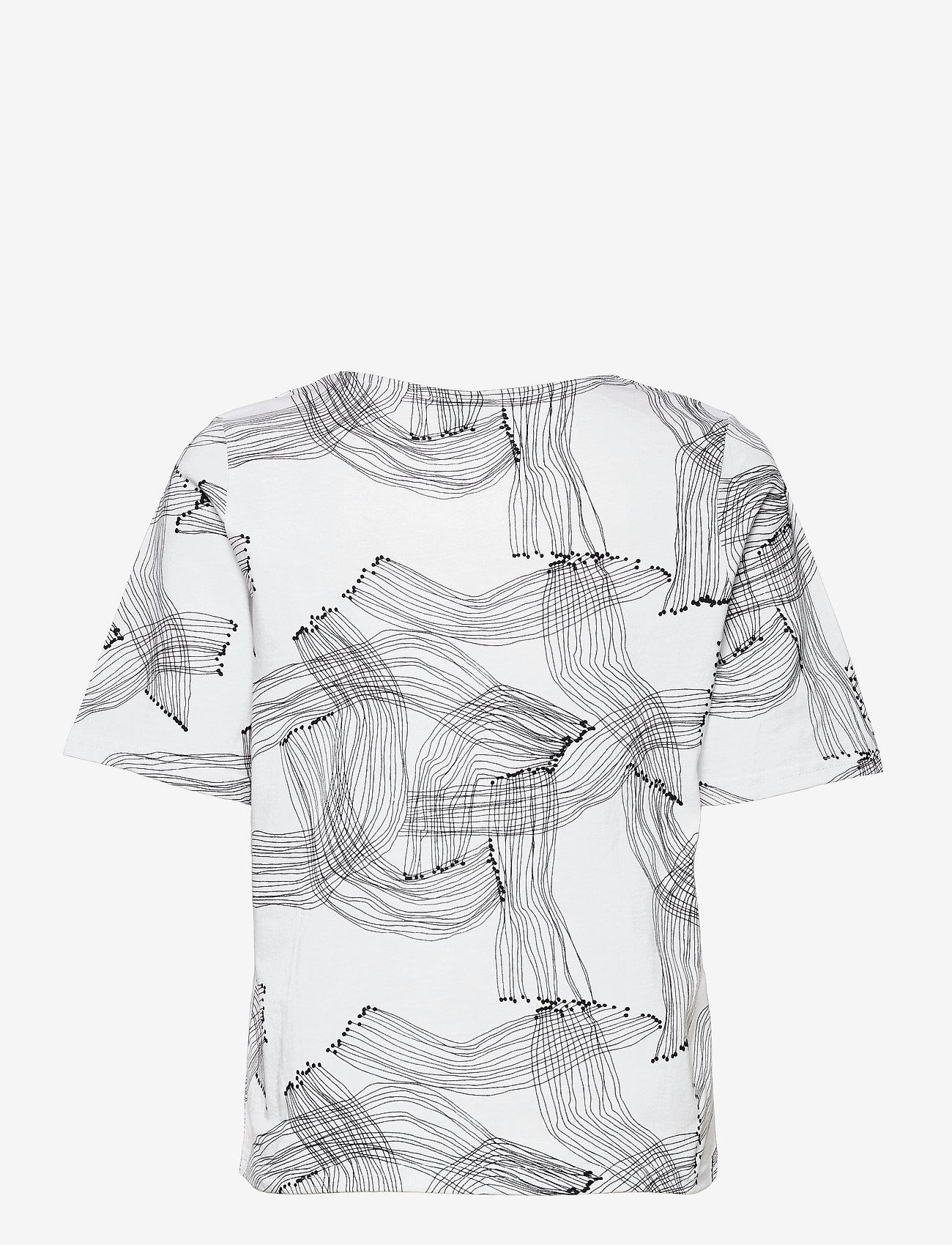 Nanso - Ladies t-shirt, Narunen - t-shirts - black-white - 1